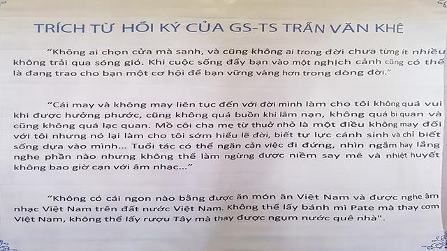 Giản dị và ấm cúng Lễ tưởng niệm 4 năm ngày mất GS.TS Trần Văn Khê - 4