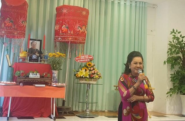 Giản dị và ấm cúng Lễ tưởng niệm 4 năm ngày mất GS.TS Trần Văn Khê - 13