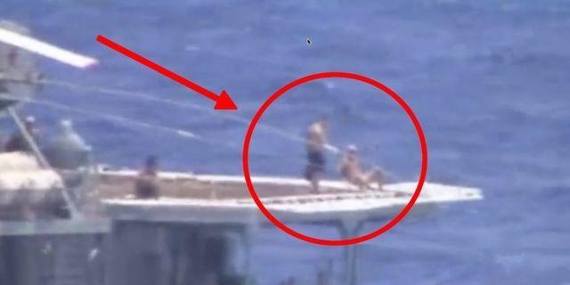 Vì sao thủy thủ Nga ung dung tắm nắng khi chiến hạm suýt đâm tàu Mỹ? - 1