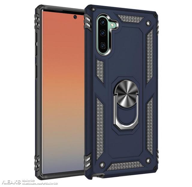 Lộ ảnh lớp vỏ bảo vệ cho thấy thiết kế mới của Galaxy Note10, ra mắt ngày 10/8 - 2