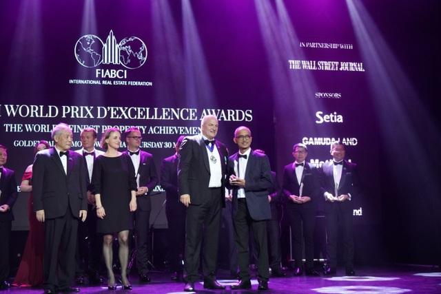 Ciputra Hanoi giành cúp tại giải thưởng Bất động sản thế giới FIABCI - 1