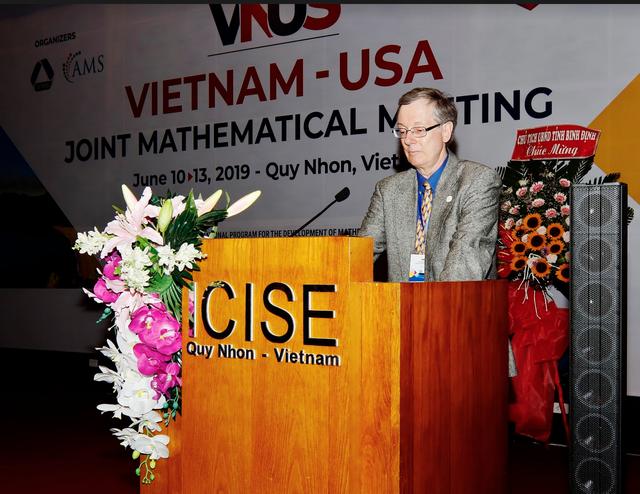 Hội nghị toán học Việt – Mỹ: Cột mốc quan trọng hợp tác giữa các nhà toán học - 3