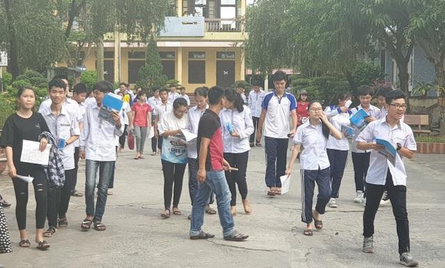 Tuyển sinh vào lớp 10 Nam Định: 14 thí sinh vắng thi, 3 thí sinh vi phạm quy chế - 1