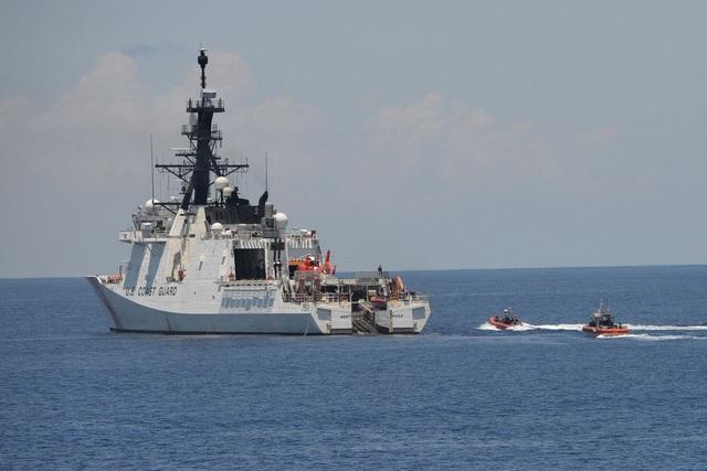 """Tuần duyên Mỹ gia tăng hiện diện ở Biển Đông """"nắn gân"""" Trung Quốc - 1"""