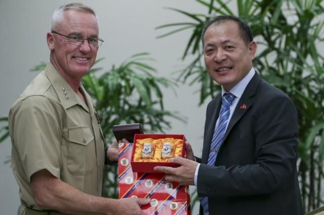 Treo cờ Đài Loan tại hội thảo phòng thủ, Mỹ có thể