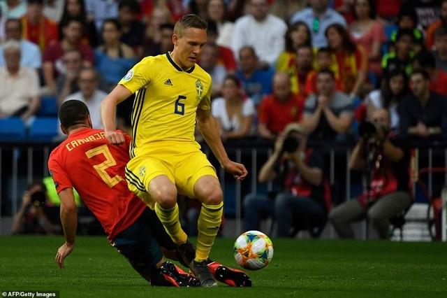 Tây Ban Nha 3-0 Thụy Điển: Ramos, Morata lập công - 9