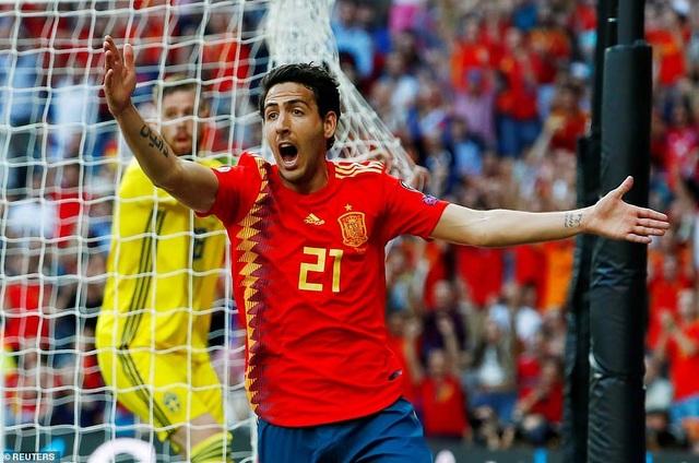Tây Ban Nha 3-0 Thụy Điển: Ramos, Morata lập công - 11
