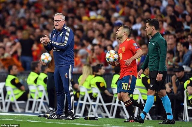 Tây Ban Nha 3-0 Thụy Điển: Ramos, Morata lập công - 12