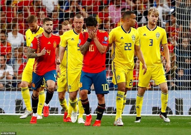 Tây Ban Nha 3-0 Thụy Điển: Ramos, Morata lập công - 15