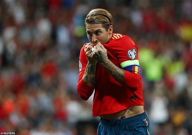 Tây Ban Nha 3-0 Thụy Điển: Ramos, Morata lập công - 3