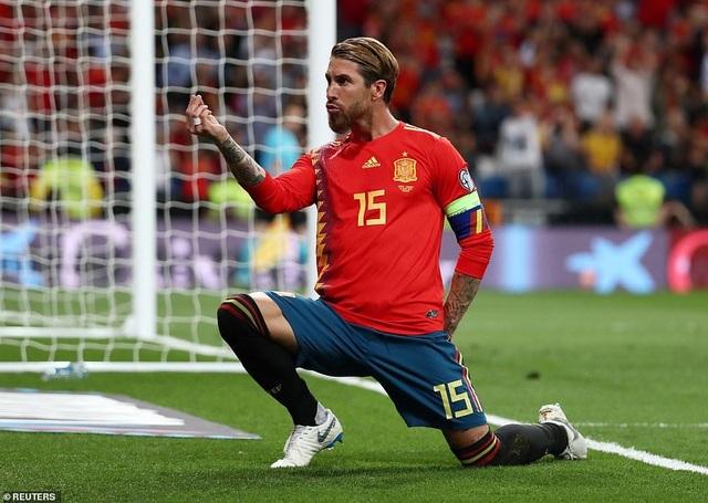 Tây Ban Nha 3-0 Thụy Điển: Ramos, Morata lập công - 1