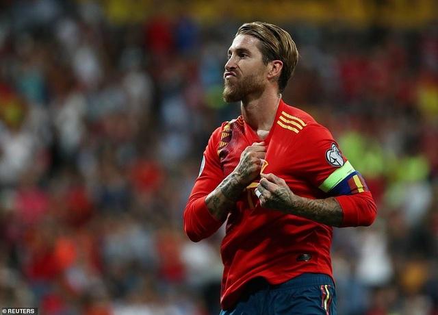 Tây Ban Nha 3-0 Thụy Điển: Ramos, Morata lập công - 4