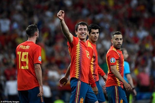Tây Ban Nha 3-0 Thụy Điển: Ramos, Morata lập công - 7
