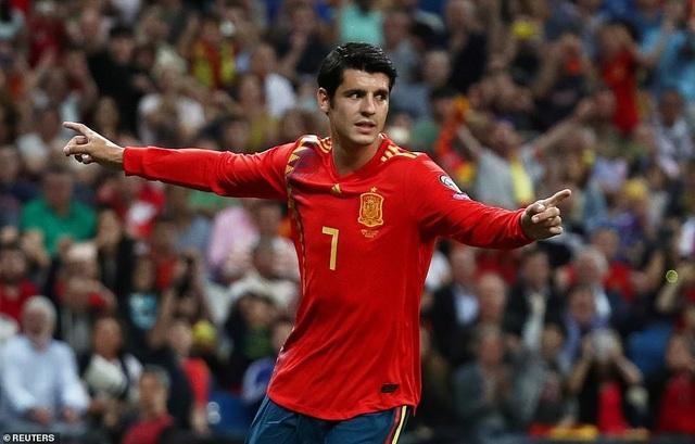 Tây Ban Nha 3-0 Thụy Điển: Ramos, Morata lập công - 5