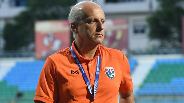 Thất bại nặng nề, HLV U23 Thái Lan tuyên bố từ chức - 1