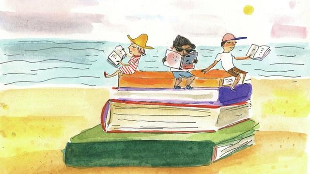 Bí quyết giúp trẻ thích thú và tự động đọc sách - 1