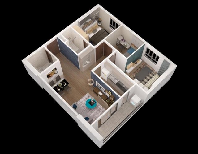 Không gian sống đẳng cấp tại dự án chung cư Apec Golden Palace Lạng Sơn - 3