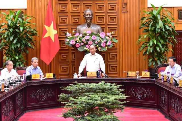 Thủ tướng: Huế cần phát huy khát vọng và hoài bão, đi đầu trong các phong trào - 1