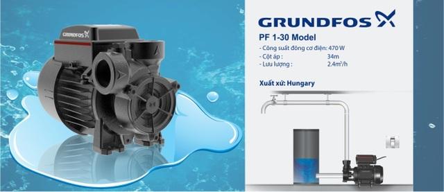 Cơ hội sở hữu sản phẩm chính gốc Châu Âu - máy bơm nước Grundfos Đan Mạch - 2