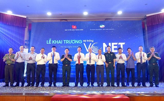 Ban Tuyên giáo Trung ương khai trương hệ thống thông tin điện tử - 2