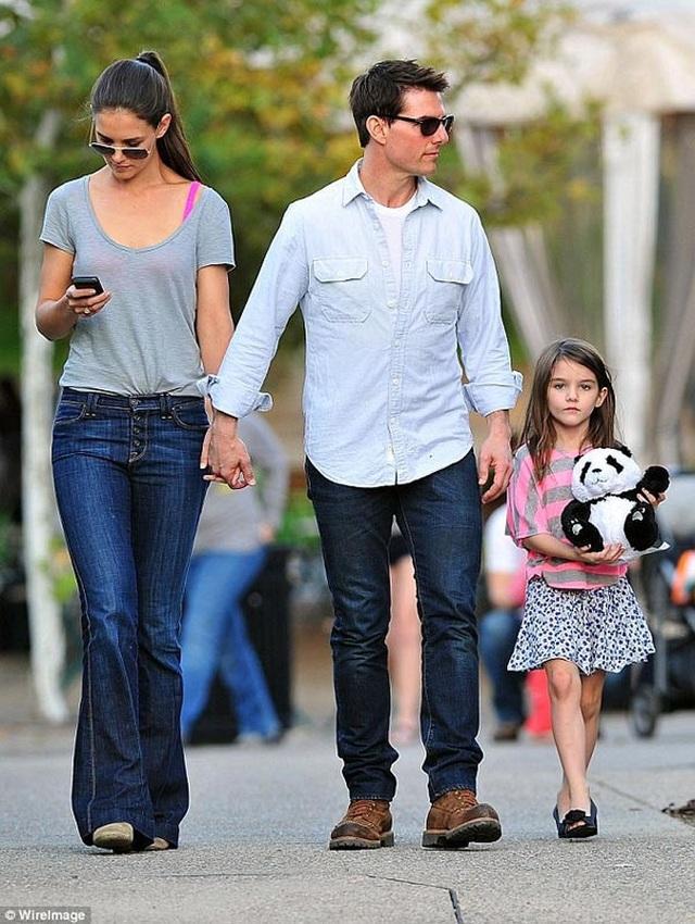 Hình ảnh hiếm hoi về con gái Tom Cruise - 5