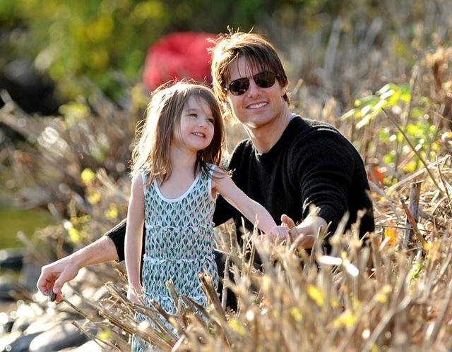 Hình ảnh hiếm hoi về con gái Tom Cruise - 4