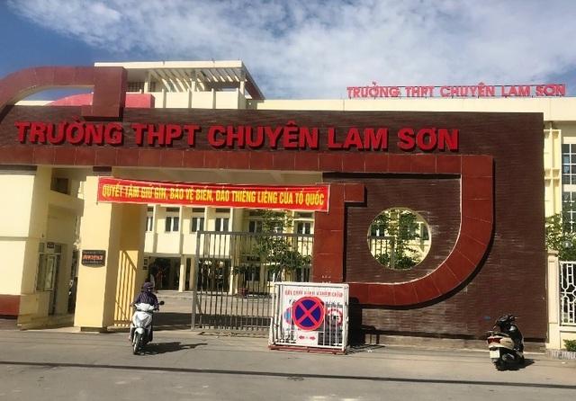 Trường chuyên Lam Sơn tuyển dụng giáo viên không quá 30 tuổi - 1