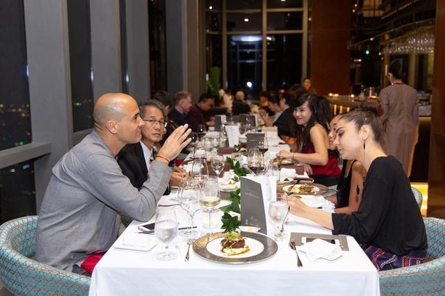 Đầu bếp lừng danh David Rocco chủ trì dạ tiệc giao lưu văn hóa Việt - Ý - 8