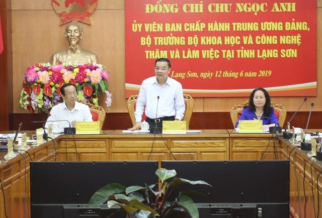 """Bộ trưởng Chu Ngọc Anh: Khoa học đang làm """"tăng tốc"""" các sản phẩm chủ lực - 1"""