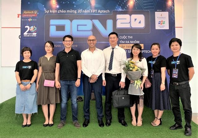 Vinmec và FPT IS tài trợ cho cuộc thi lập trình kỷ niệm 20 năm FPT Aptech - 1