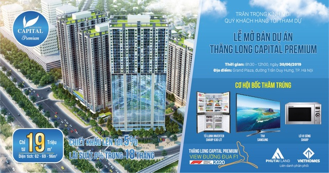 Thăng Long Capital Premium hé lộ sự đẳng cấp của căn hộ 1,3 tỷ cách đường đua F1 5km - 2