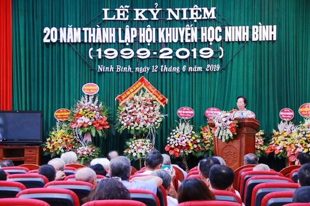 Hội Khuyến học Ninh Bình long trọng kỷ niệm 20 năm thành lập - 5