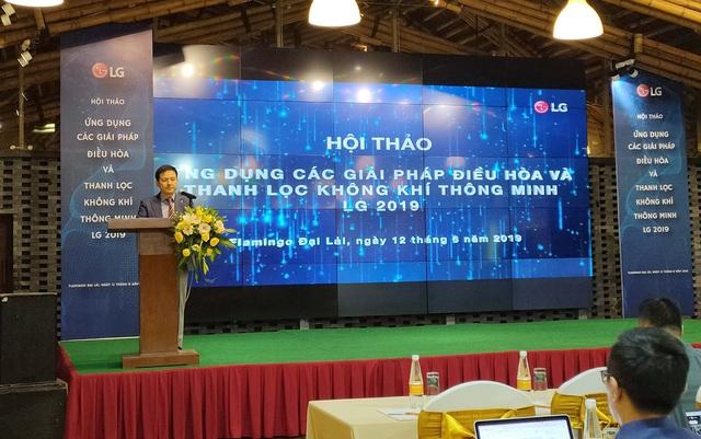 LG giới thiệu loạt giải pháp điều hòa và thanh lọc không khí tại Việt Nam - 1