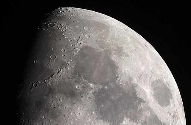 Phát hiện vật chất bí ẩn trên Mặt Trăng - 1