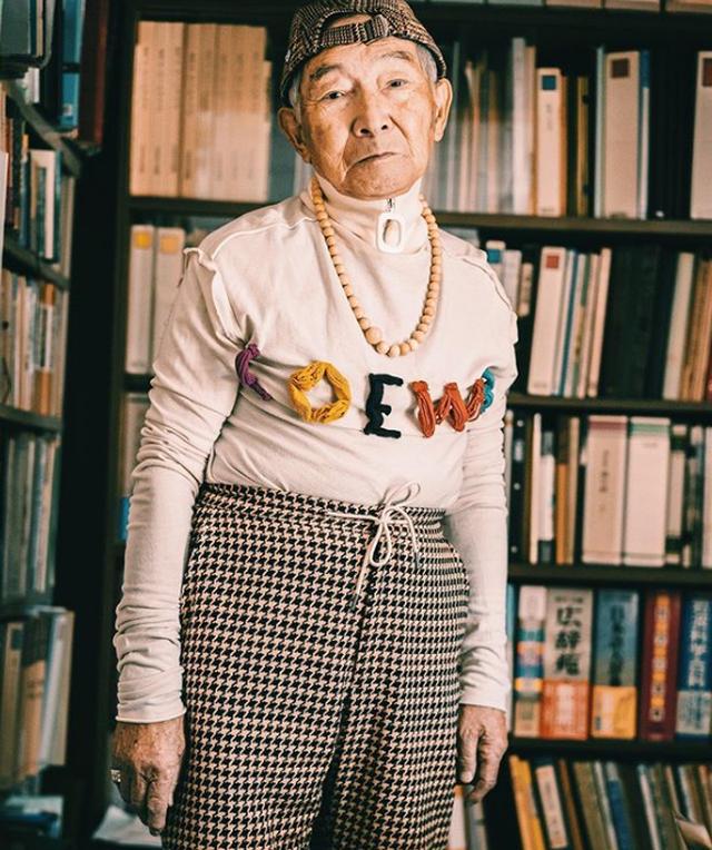 Dân mạng lên cơn sốt với cụ ông 84 tuổi mặc chất hơn cả thanh niên - 7