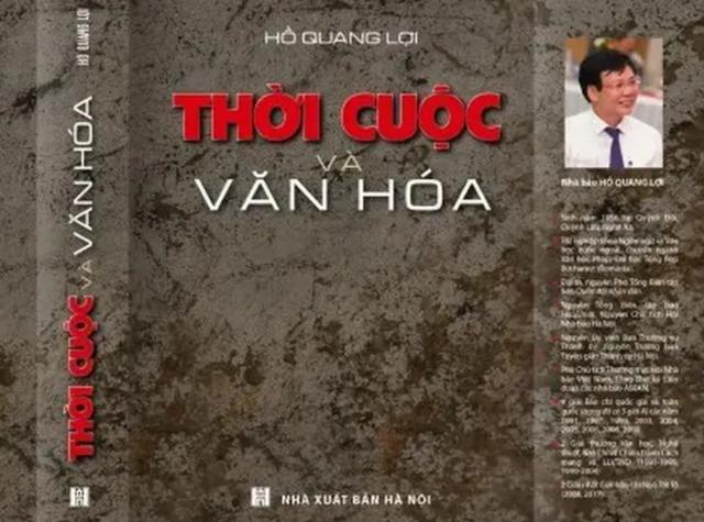 Nhà báo Hồ Quang Lợi ra mắt cuốn sách Thời cuộc và văn hóa - 3