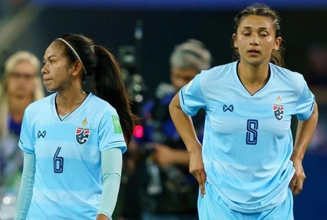 Đội tuyển nữ Thái Lan thua Mỹ 0-13 ở World Cup nữ 2019 - 1