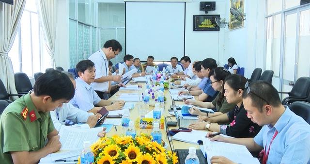 Ban chỉ đạo thi THPT quốc gia kiểm tra công tác chuẩn bị tại Phú Yên - 2