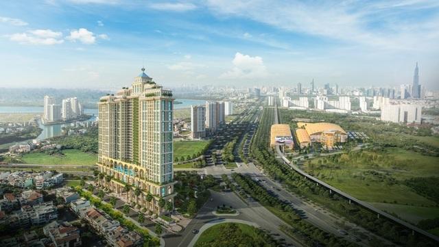 Khách ngoại mê mẩn biểu tượng kiến trúc mới của Sài Gòn - 2