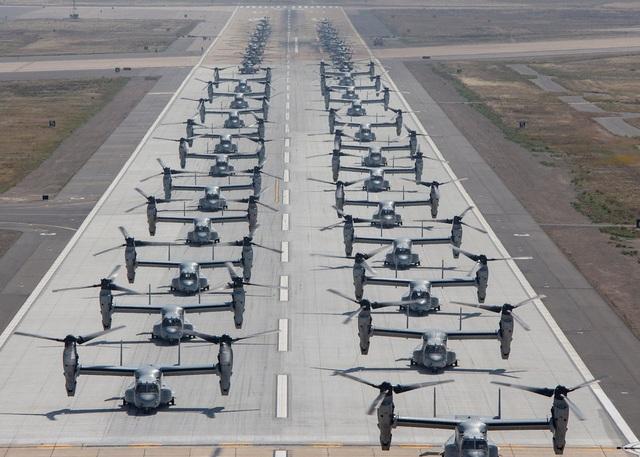 """Hơn 40 trực thăng quân sự Mỹ phô diễn uy lực trong tập trận """"Voi đi bộ"""" - 4"""