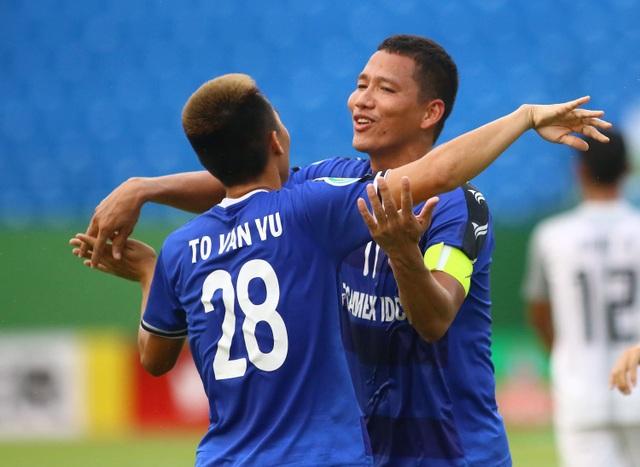 Anh Đức ghi bàn, B.Bình Dương đánh bại CLB Quảng Nam - 1