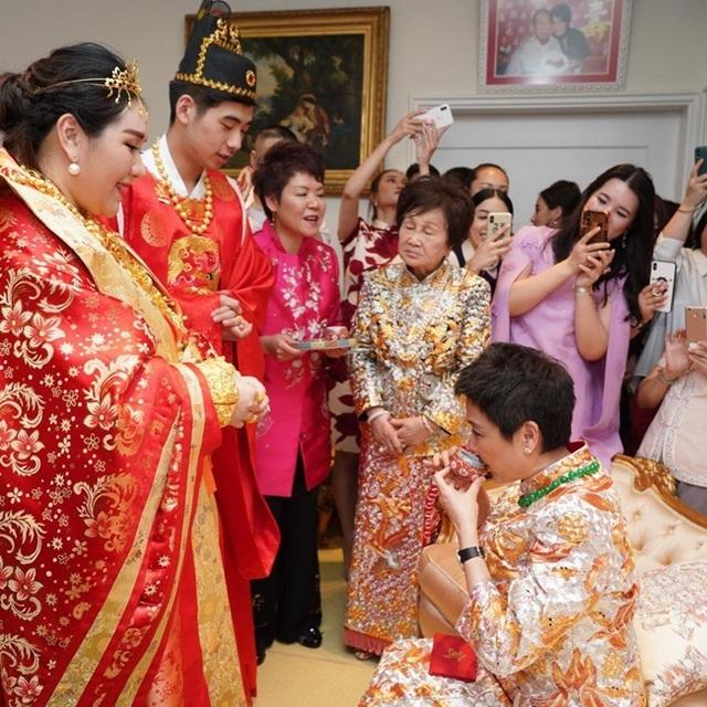 Chân dung ái nữ con ông trùm sòng bạc nhận hơn 1,6 nghìn tỷ tại lễ đính hôn - 3
