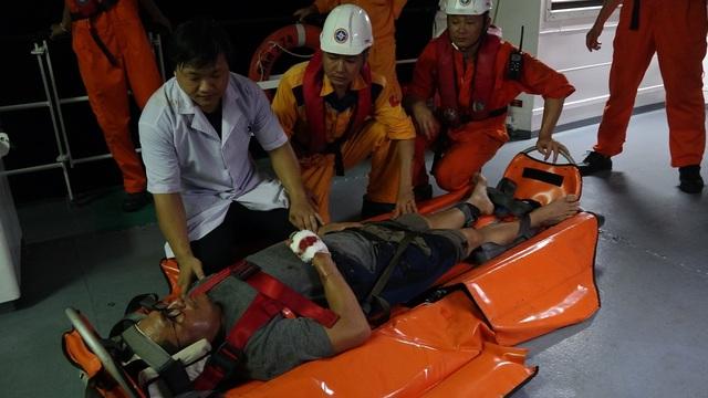 Cứu thuyền viên người nước ngoài bị chấn thương cột sống và vùng ngực do tai nạn lao động - 2