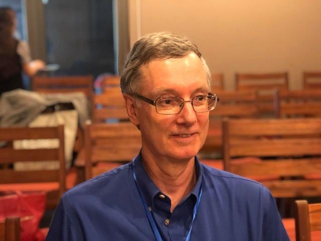 """Giáo sư Brian Boe: """"Muốn nền toán học phát triển phải đầu tư nhiều cho thế hệ trẻ"""" - 1"""