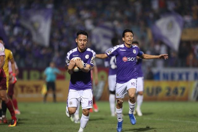 Đỗ Hùng Dũng lập công, CLB Hà Nội thắng dễ Sài Gòn FC - 2