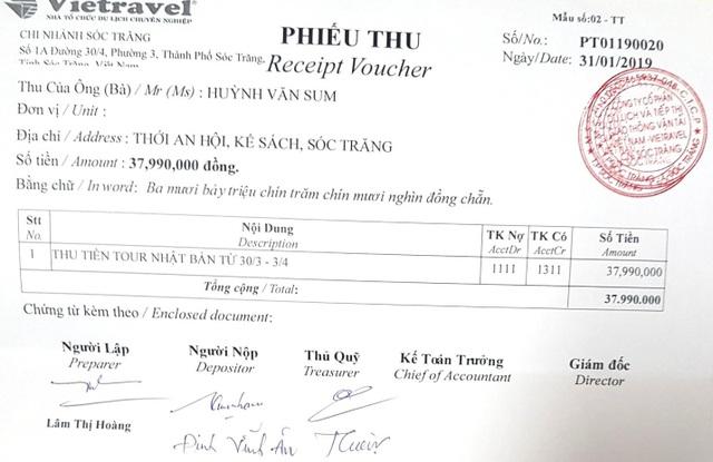Sóc Trăng thông tin chính thức việc cán bộ đi nước ngoài bằng tiền doanh nghiệp - 2