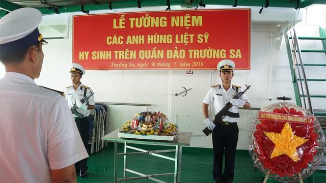 Bài diễn văn xúc động tưởng niệm các liệt sĩ hi sinh ở Trường Sa 31 năm trước - 1
