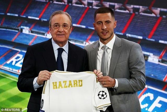 Eden Hazard rạng rỡ ra mắt 50.000 cổ động viên Real Madrid - 8