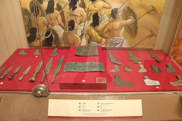 Chiêm ngưỡng dàn vũ khí độc đáo của người Việt cổ - 5