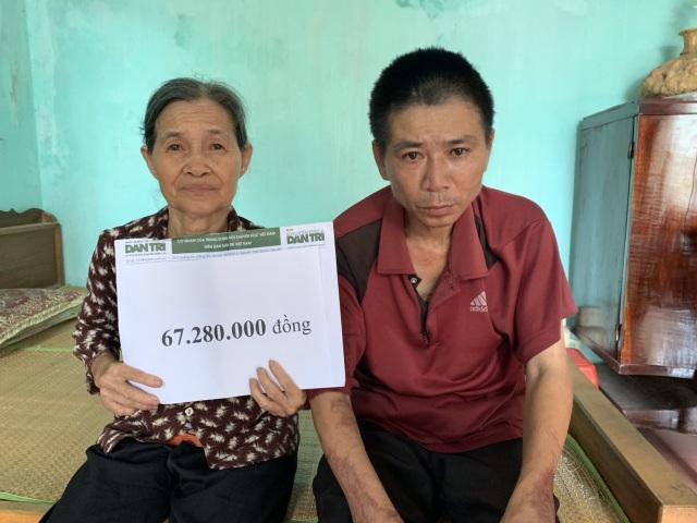 Hơn 67 triệu đồng của bạn đọc giúp đỡ cụ bà mò cua bắt ốc nuôi con trai động kinh - 5